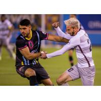 Sacramento Republic FC and Las Vegas Lights FC battle