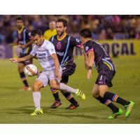 Sacramento Republic FC controls the ball vs. Las Vegas Lights FC